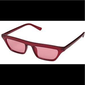 Quay Australia Red Frames With Red Lenses